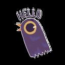 Sticker tagged Hello